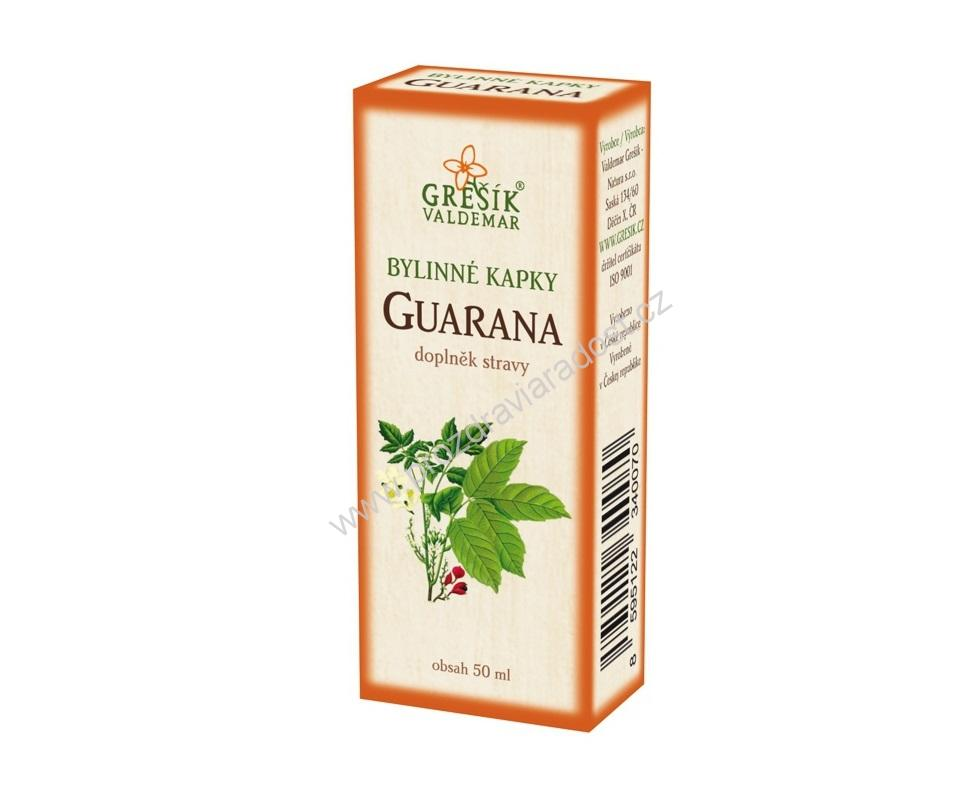 Guarana - kapky 50 ml