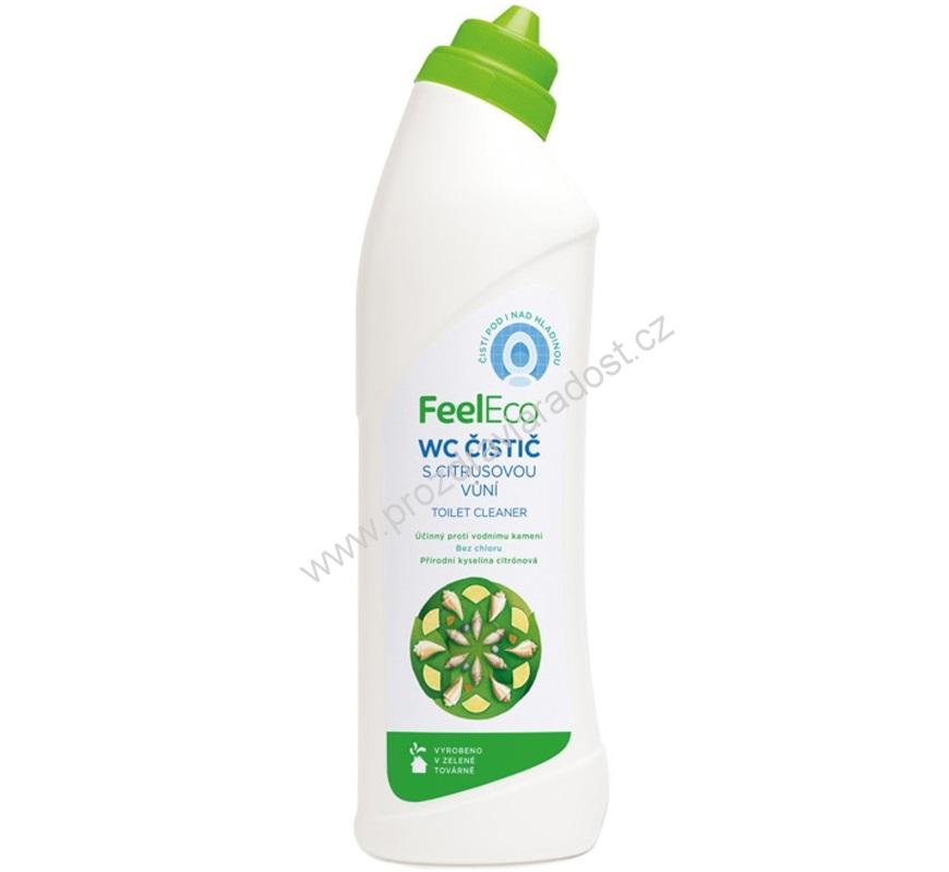 Feel Eco WC čistič citrus 750 ml