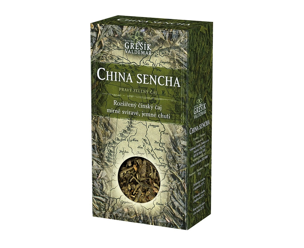 China Sencha 70 g GREŠÍK
