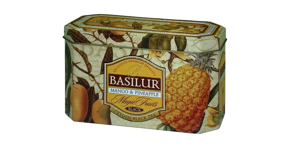 BASILUR Magic Mango & Pineapple 20x2 g