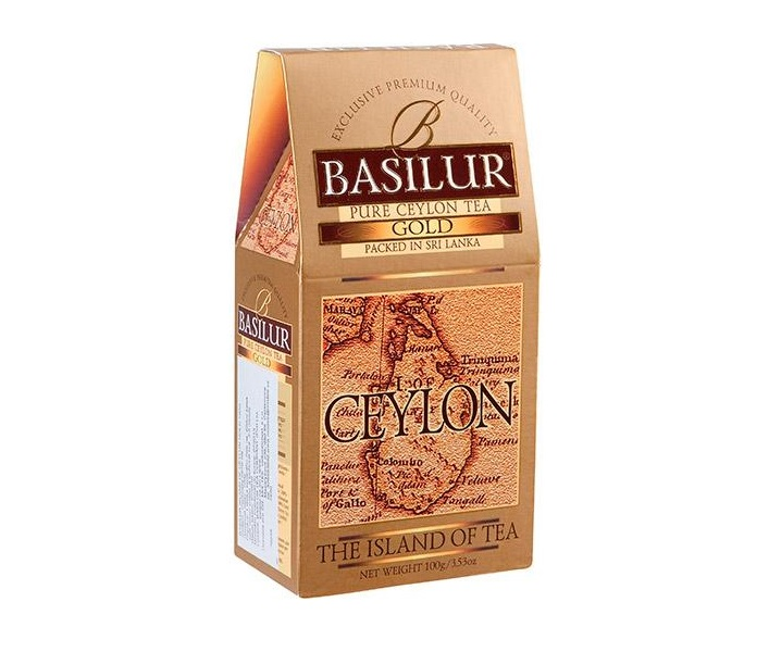 BASILUR Island of Tea Gold OP1 100 g