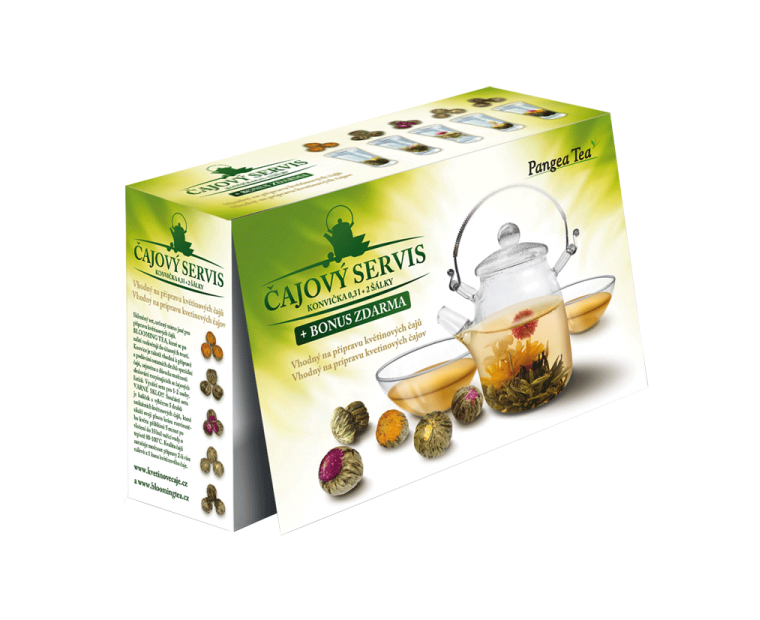 Servis Blooming Tea