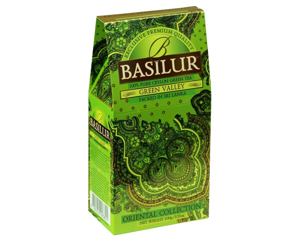 BASILUR Orient Green Valley 100 g