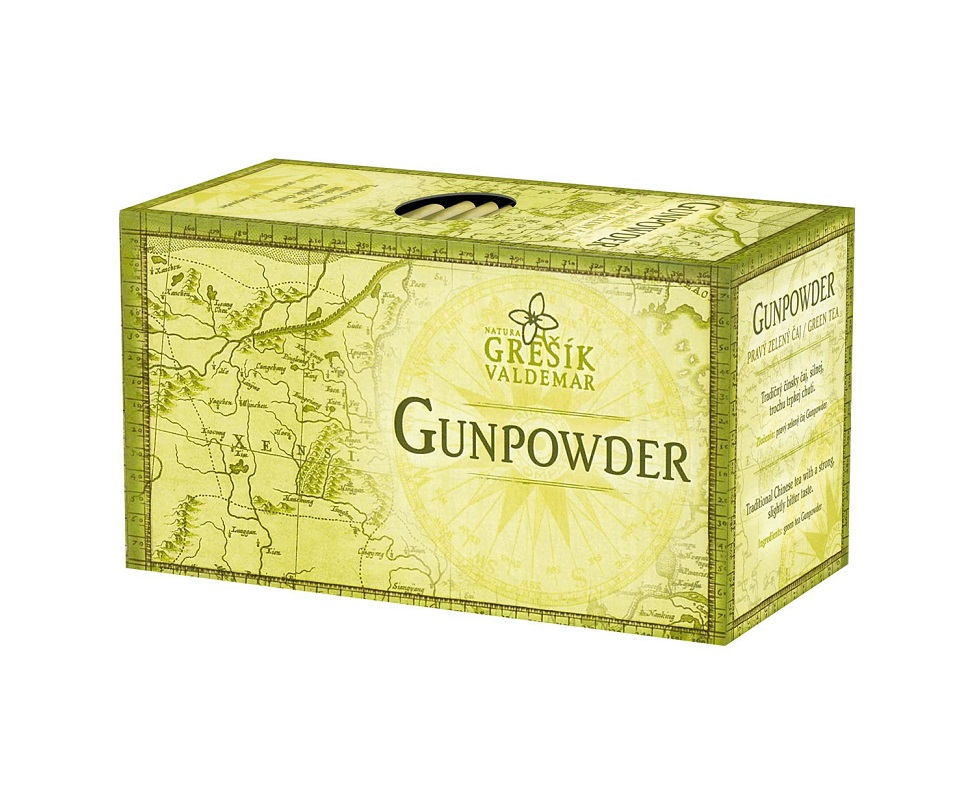 Zelený čaj Gunpowder