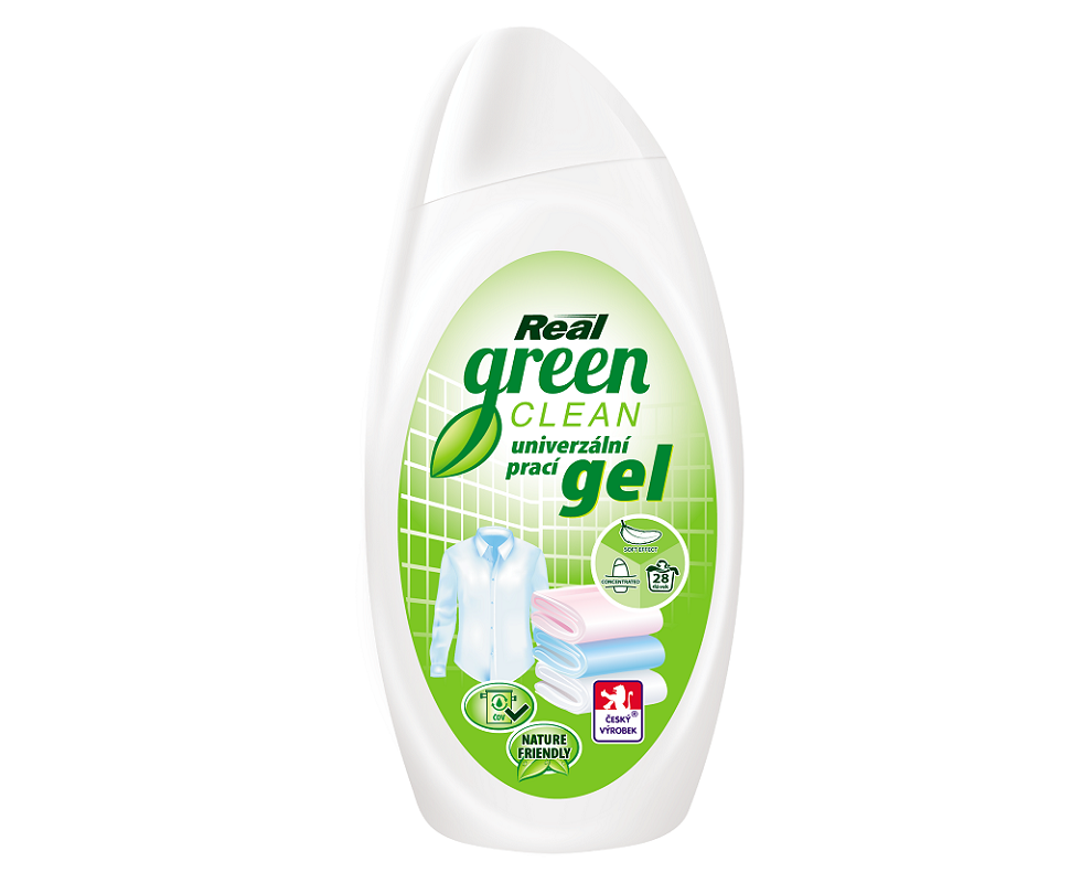 Real green clean prací gel 1 l