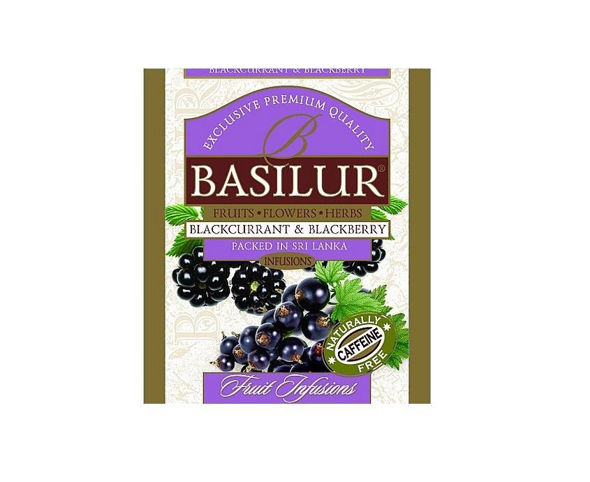 Basilur Blackcurrant & Blackberry