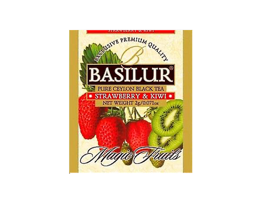 Basilur Strawberry & Kiwi