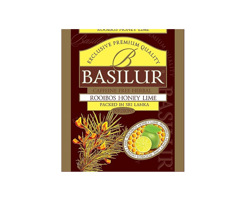 Basilur Rooibos Honey Lime