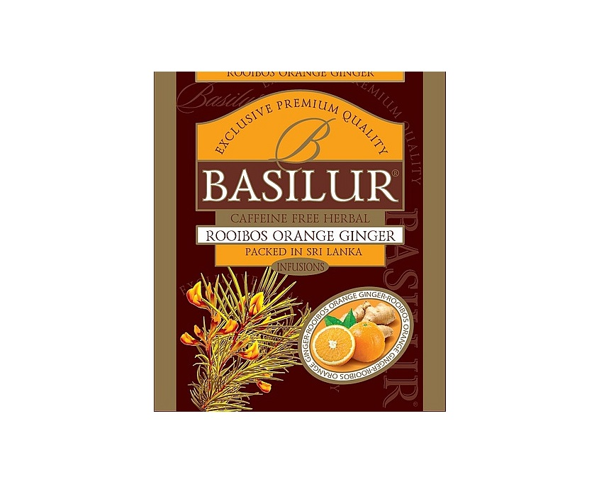 Basilur Rooibos Orange Ginger