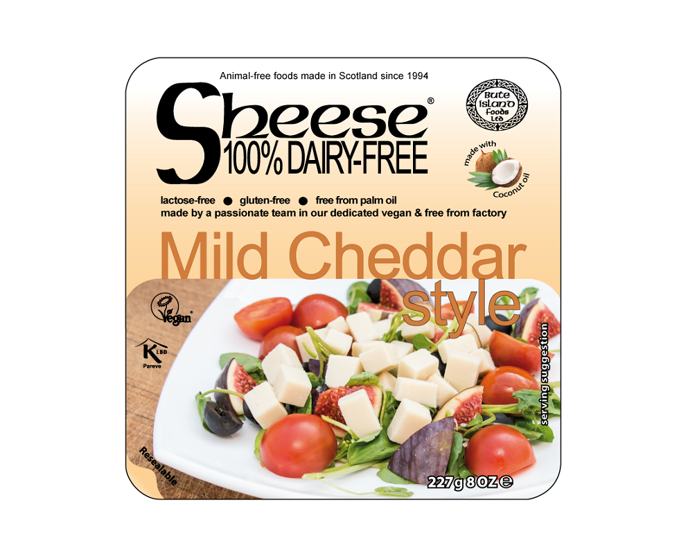 Sheese Mild Cheddar style