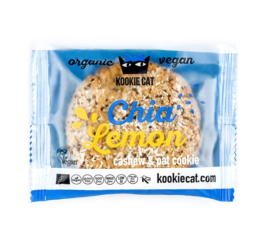 KOOKIE CAT Chia & citron 50 g