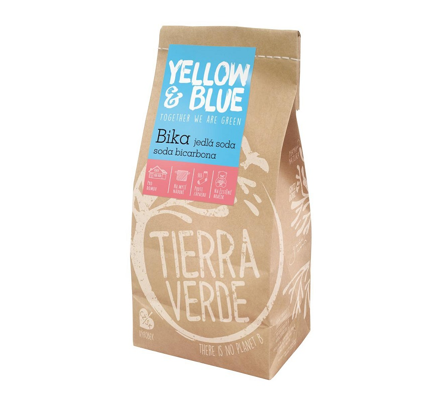 Yellow&Blue Bika - jedlá soda