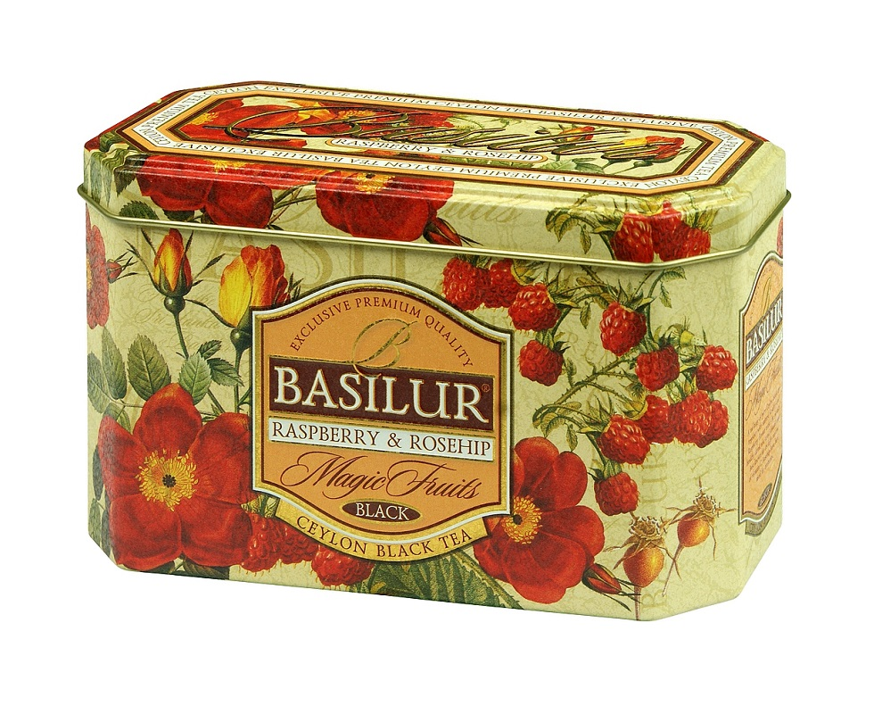 Basilur Magic Raspberry & Rose