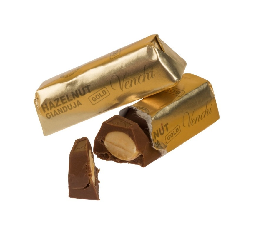 Venchi Gianduja Milk Gold