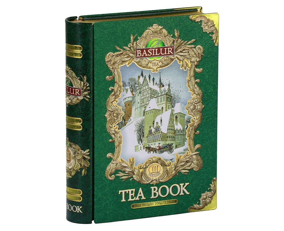 Basilur Tea Book III. Green 100 g
