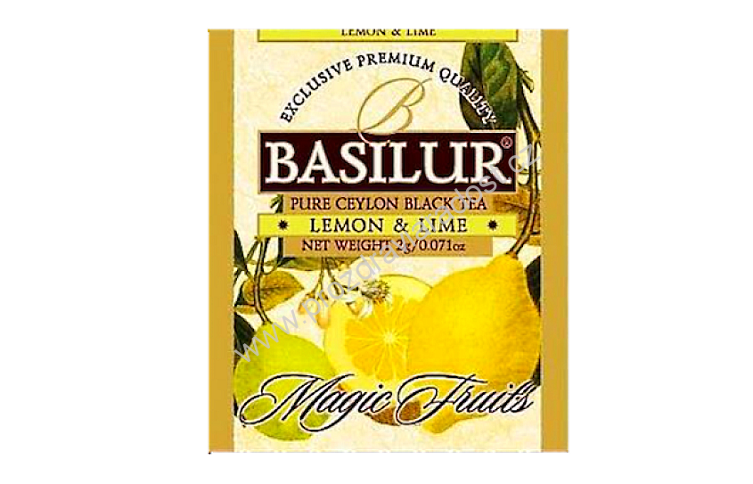 Basilur Magic Fruit Assorted Black