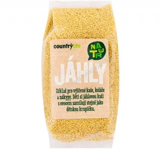 Jáhly 500 g Country Life