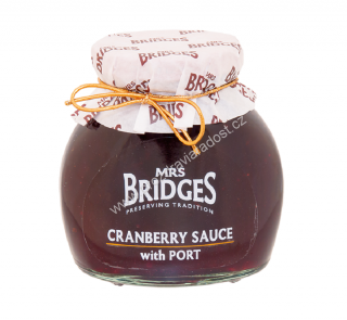 Mrs Bridges Cranberry Sauce with Port
