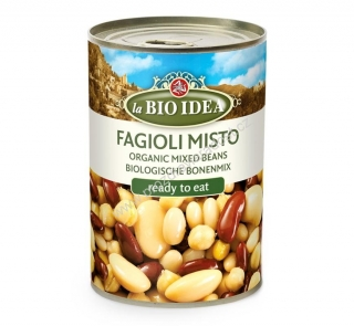 Fazole mix steril. 400 g BIO BIO IDEA