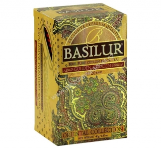 Basilur Oriental Golden Crescent Black