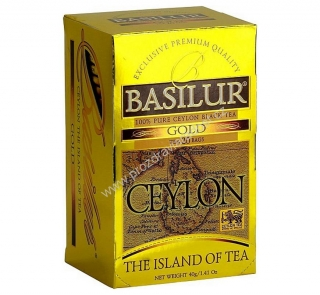 Basilur Island of Tea Gold 20 x 2 g