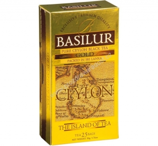 Basilur Island of Tea Gold nepř. 25 x 2 g