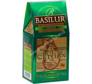 Basilur Island of Tea Green FBOP 100 g