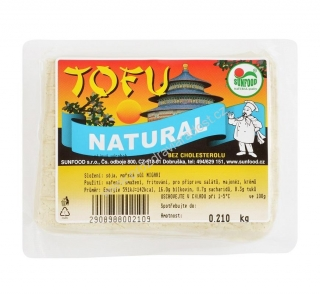 Tofu Natural cca 200 g Sunfood