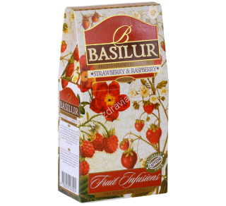 Basilur Fruit Strawberry&Raspberry 100g