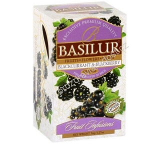 Basilur Fruit Blackcurrant & Blackberry 20