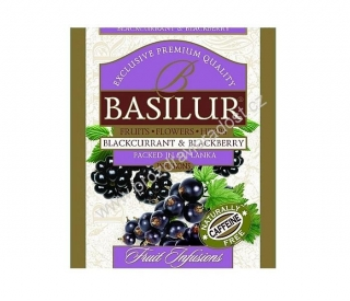 Basilur Fruit Blackcurrant & Blackberry 1