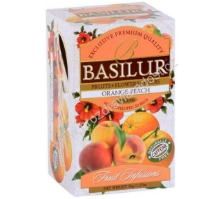 Basilur Fruit Orange Peach 20