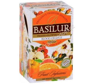 Basilur Fruit Blood Orange 20