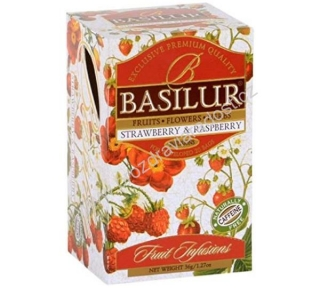 Basilur Fruit Strawberry & Raspberry 20