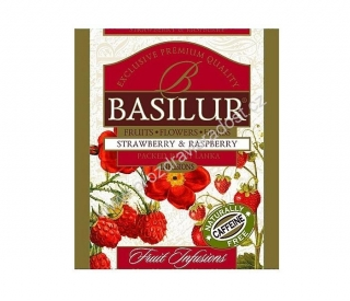 Basilur Fruit Strawberry & Raspberry 1