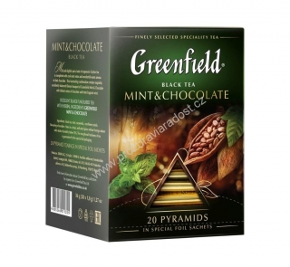 Greenfield Pyramid Mint & Chocolate