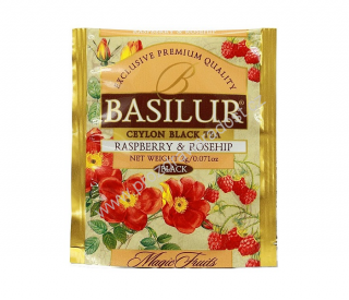 Basilur Magic Raspberry & Rosehip