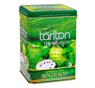Tarlton Green Tea Soursop Tin 250 g