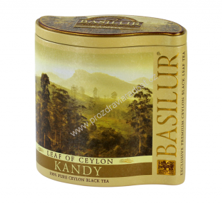 Basilur Leaf Of Ceylon Kandy Tin 100 g