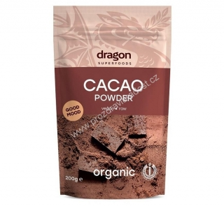 Kakao Criollo Raw 200 g BIO DRAGON