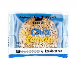 KOOKIE CAT Chia citron 50 g Bio
