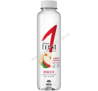 Fructal drink Focus jablko-ženšen 500 ml