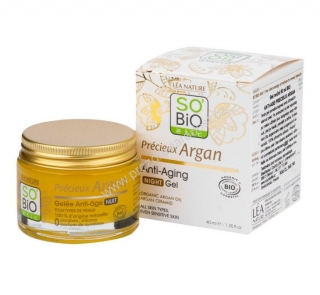 Gel noční Anti-age Argan 50 ml SO´BIO