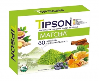 Tipson Bio Matcha Assorted 60