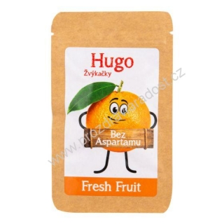 HUGO žvýkačky Fresh Fruit 9 g VELEBA