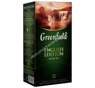 Greenfield Black English Edition 25
