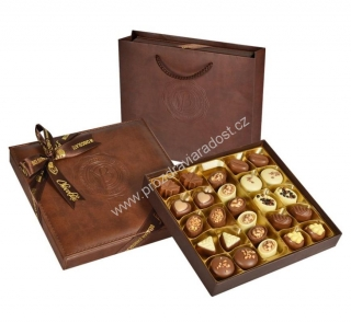 Brown Leather Box 350 g BOLCI CHIEF
