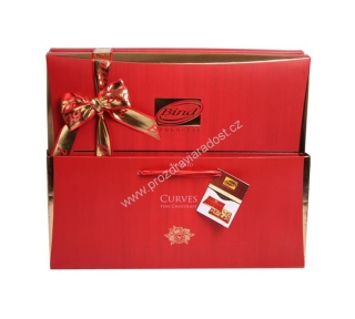 Curves Chocolate Box Red 320 g BIND