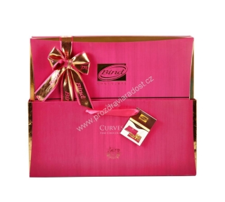 Curves Chocolate Box Pink 320 g BIND