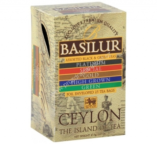 Basilur Island of Tea Assorted 25